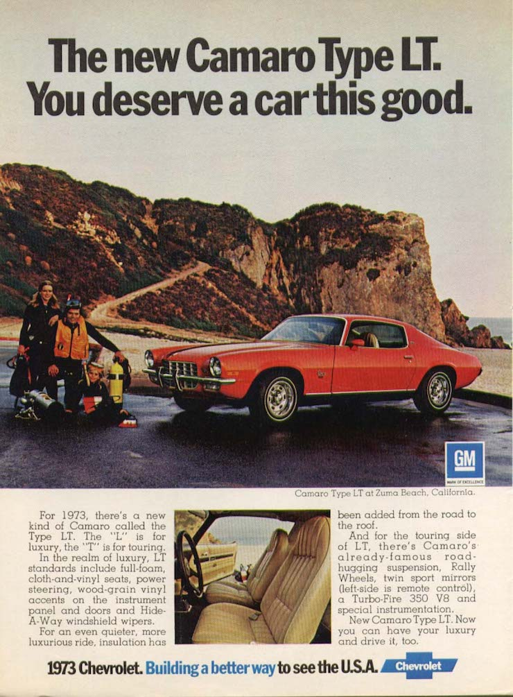 Good camaro ad