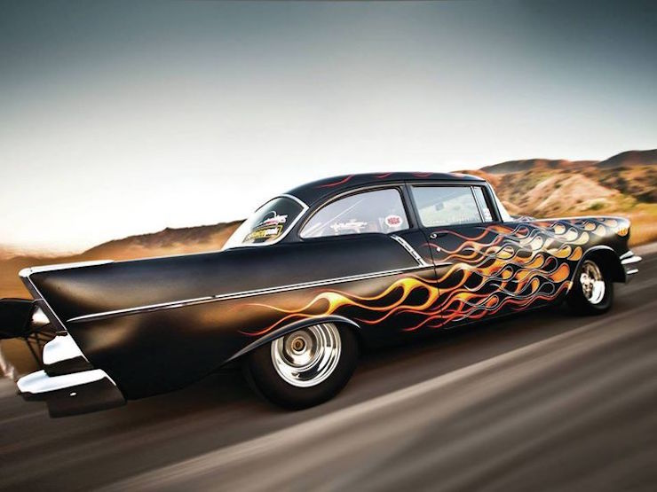 10 Classic Chevys That Make The Case For Flame Paint Jobs