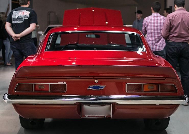 69 Camaro Rear