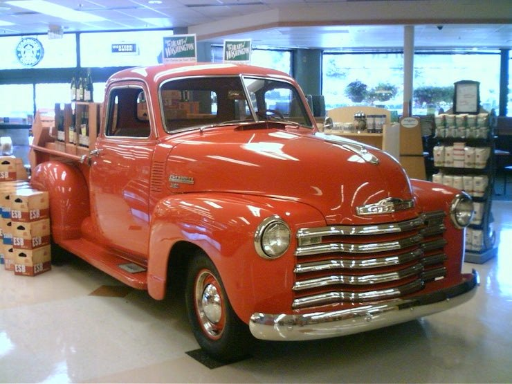 Classic chevy truck 1