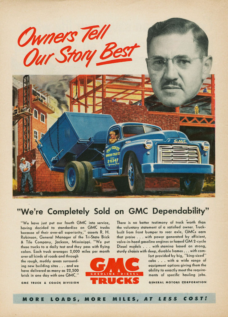 GM vintage truck ad 1