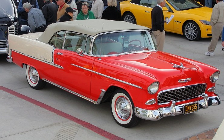 1955 Chevy Bel-Air Convertible