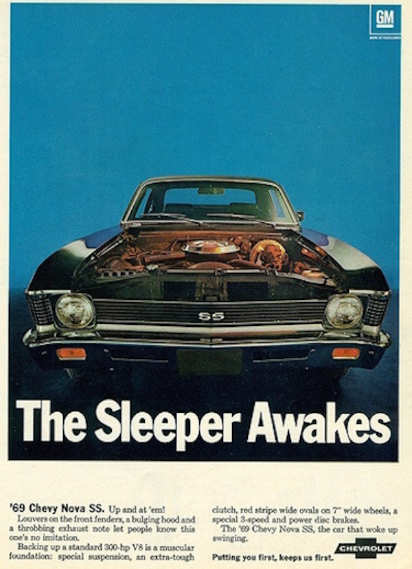 Nova sleeper awakes