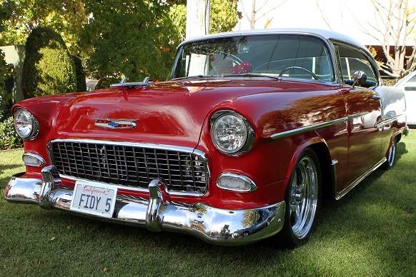 History and Pictures of the 1950-1957 Chevrolet Bel Air