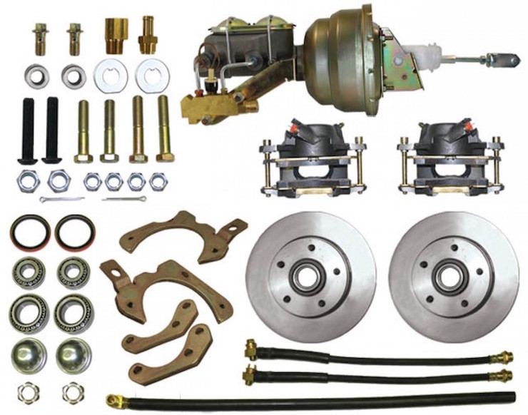 Chevy disc brake parts