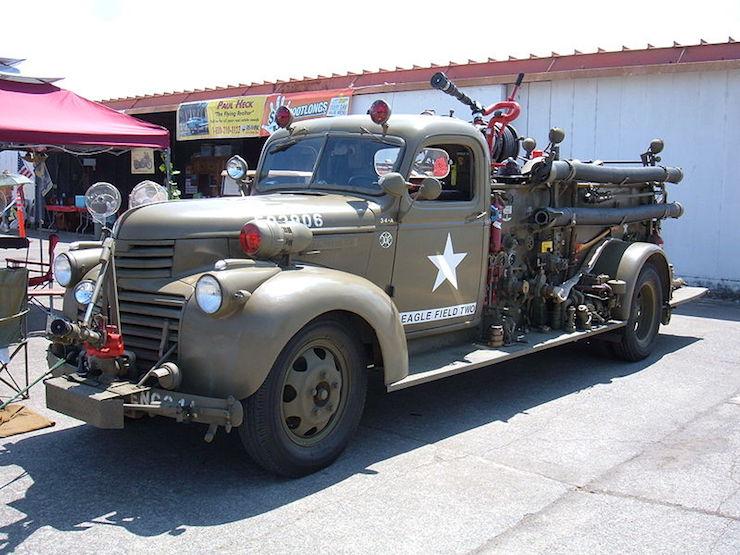 Chevy fire truck