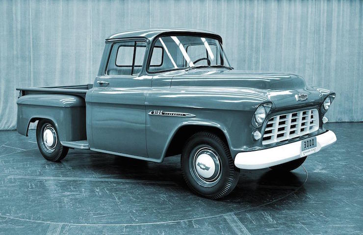 History Of The Chevy Truck 1955 1962