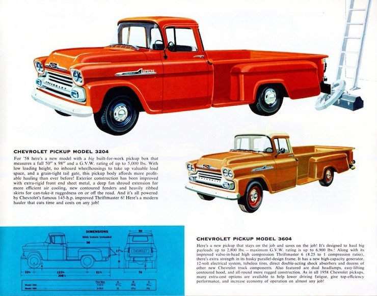chevy panel truck history