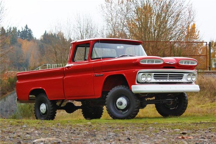 Names Of Heavy Duty Trucks : History of the chevy truck