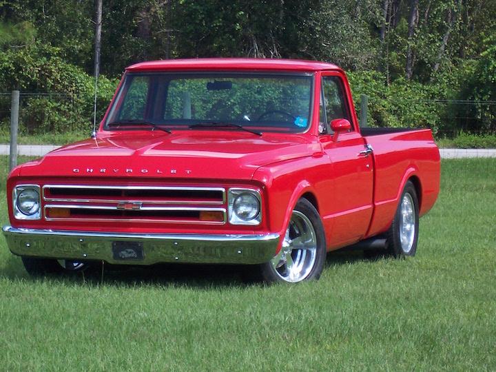 street trucks magazine | 1967 Chevrolet Shortbed Show Truck ...
