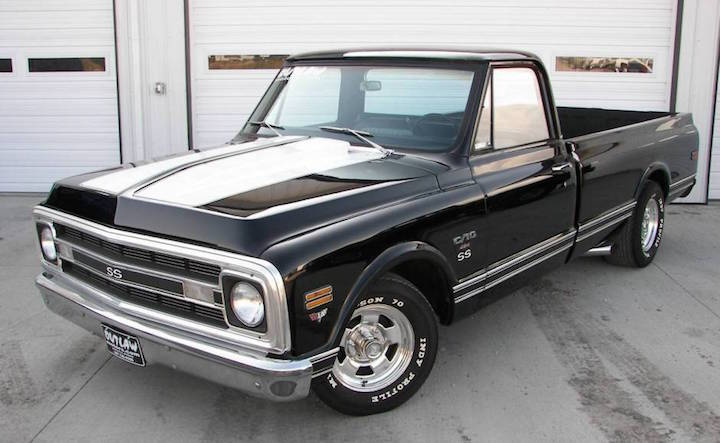 1970 Chevy Pickup >> History Of The Chevy Truck 1963 1972