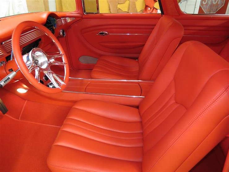 The Coolest Custom Tri Five Interiors