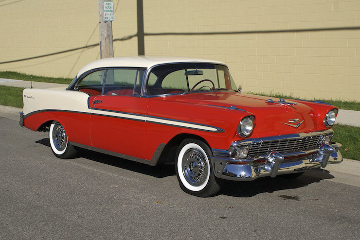Tri five trivia 56 bel air