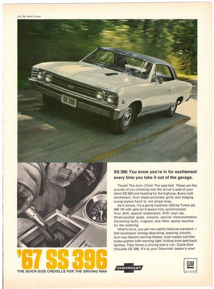 New Chevelle Ss >> Vintage Chevelle Ads From the 1960s: Part II