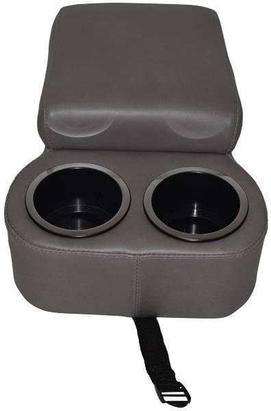 Classic Consoles Bench Seat Console Gray For 1975 1981
