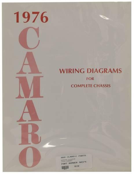 Dg Automotive Literature Wiring Diagram For 1976 Camaro