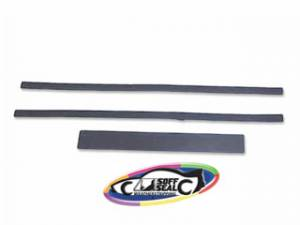 Weatherstripping & Rubber Restoration Parts - Hood Rubber Seals