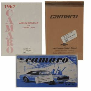 Classic Camaro Parts Online Catalog - Books & Manuals
