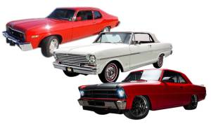 New Products - 1962-74 Nova/Chevy II