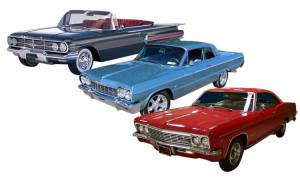 Close out/Discontinued Items - 1958-70 Impala