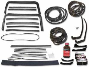 Weatherstripping & Rubber Restoration Parts - Weatherstrip Kits