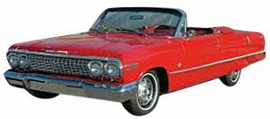 Classic Impala Parts Online Catalog - Convertible Parts