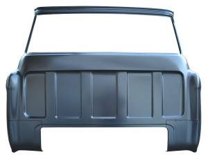Sheet Metal Body Panels - Complete Rear Cab Panels