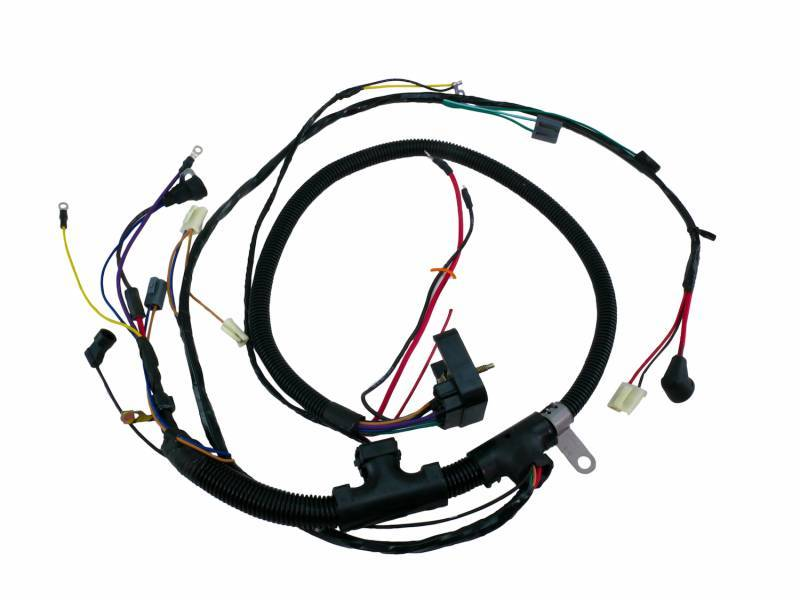 American Autowire Engine Harness For 1967 Camaro