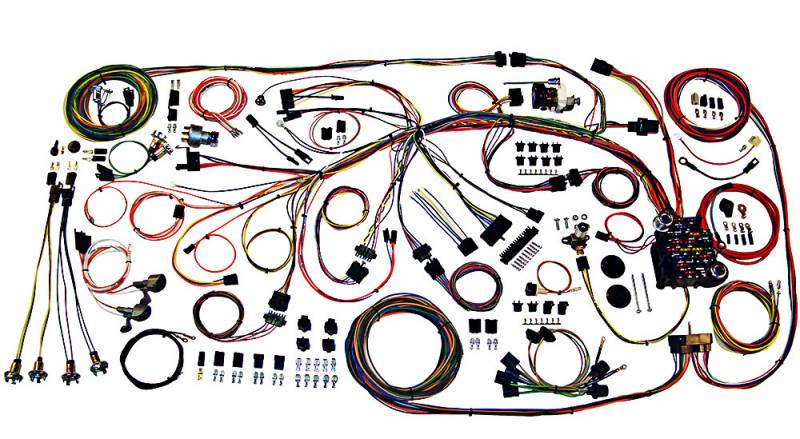 American Autowire Classic Update Wiring Kit