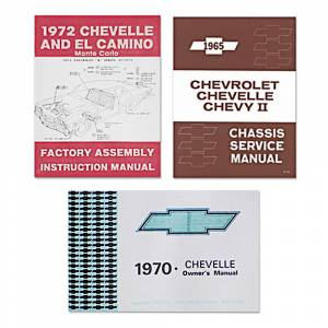 Classic Chevelle Parts Online Catalog - Books & Manuals