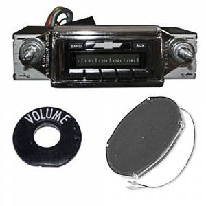 Classic Tri-Five Restoration Parts - Audio & Radio Restoration Parts