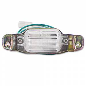 License Plate Parts - License Light Parts
