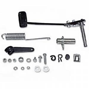 tri-five clutch pedal parts