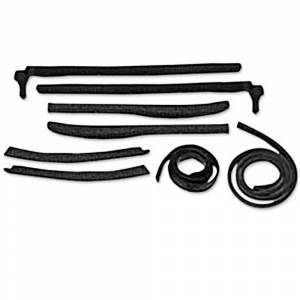 Convertible Parts - Rubber & Weatherstripping Parts