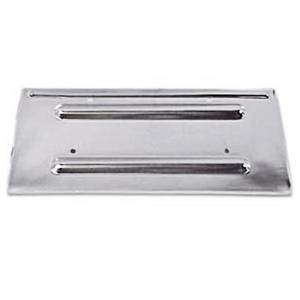 License Plate Parts - License Plate Valence Panels