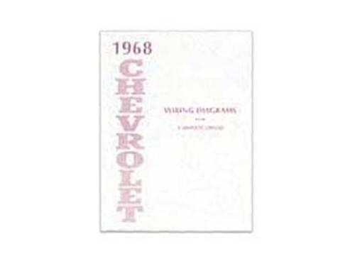 Wiring Diagram 1968 Impala Or Caprice Or Bel Air Or Biscayne Dg Automotive Literature 11326