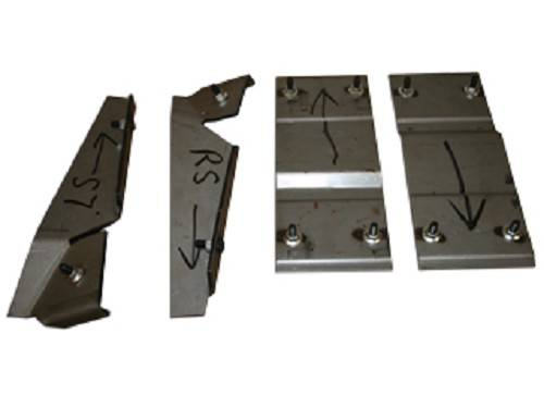 Chevy Truck Vin Decoder >> Bucket Seat Mounting Brackets - #15684 | H&H Classic Parts