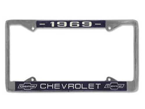 1969 Chevy Chevrolet License Plate Frame by United Pacific