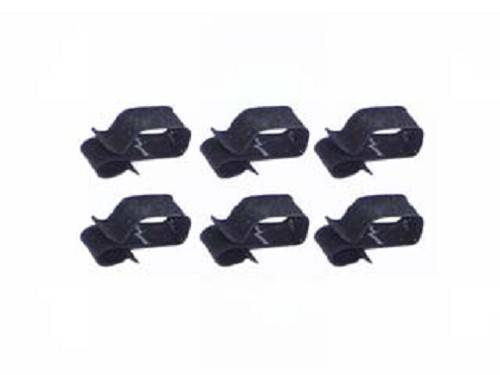 radiator support wire harness clips