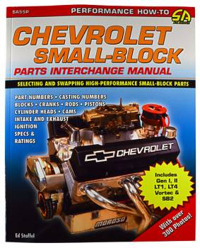 CarTech Automotive Manuals - Chevy SB Parts Interchange Manual - Image 1