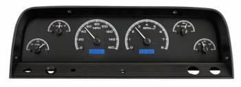 Dakota Digital - VHX Series Gauges Black Alloy Blue - Image 1