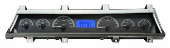 Dakota Digital - VHX Series Gauges Black Alloy Blue - Image 1