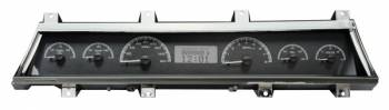 Dakota Digital - VHX Series Gauges Black Alloy White