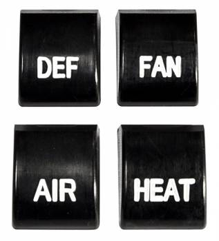 H&H Classic Parts - Heater Control Knobs - Image 1