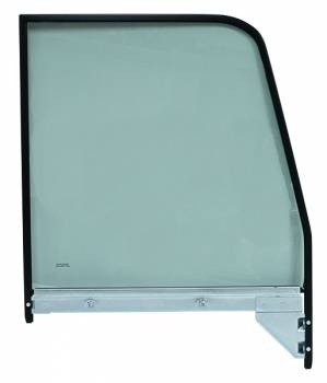 H&H Classic Parts - Black Window Frame with Tinted Glass LH - Image 1