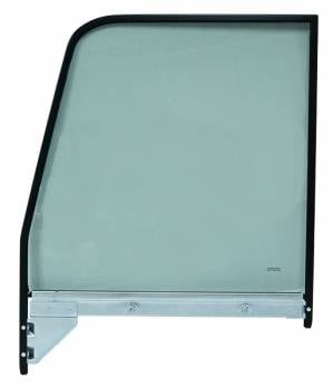 H&H Classic Parts - Black Window Frame with Tinted Glass RH