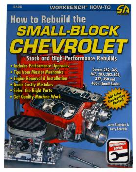 CarTech Automotive Manuals - How To Re-Build A Chevy Small Block - Image 1