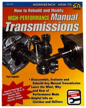 CarTech Automotive Manuals - How To Rebuild & Modify A Manual Transmission