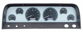 Dakota Digital - Dakota Digital VHX Gauge System Silver Alloy White - Image 1
