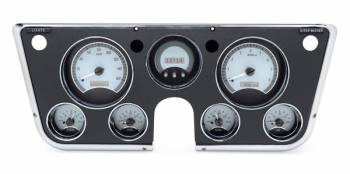 Dakota Digital - VHX Series Gauges Silver Alloy White - Image 1